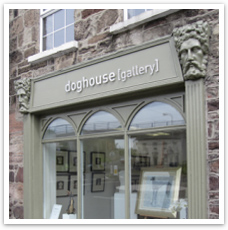 Diane Jones Textiles, stockists Doghouse