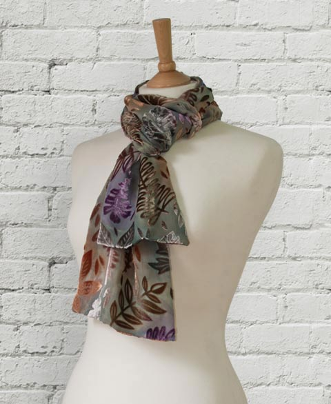Diane Jones Textiles - Devore scarves